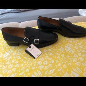 Zara black man shoes